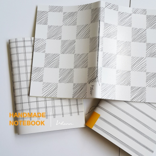 handmade notebook : Pencil line large image 2 by vhannlittle