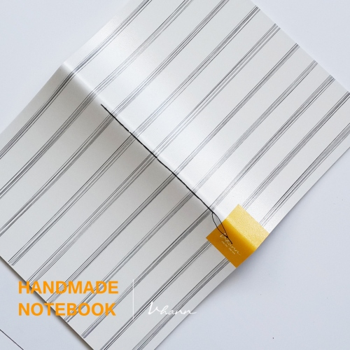 handmade notebook : Pencil line large image 3 by vhannlittle