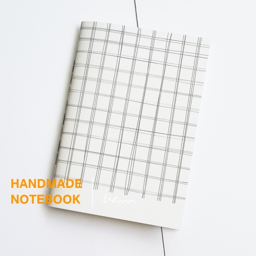 handmade notebook : Pencil line large image 4 by vhannlittle
