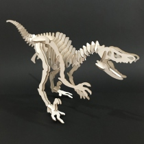 Raptor Skeleton 3D Puzzle  at Blisby