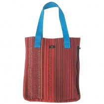 Tribal weave tote at Blisby