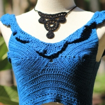 Turquoise Top Bikini Crochet at Blisby