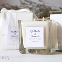 Classic Square Candles at Blisby