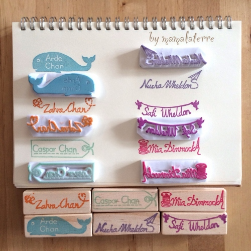 name stamp ตราปั้มชื่อ large image 0 by Bymamalaterre