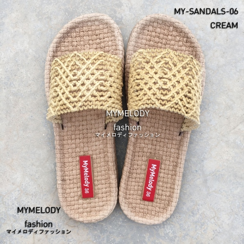 MY-SANDALS-06 ( CREAM ) large image 0 by Mymelody