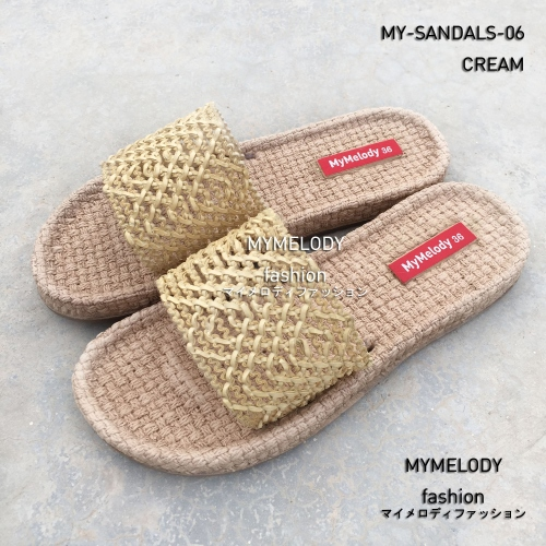MY-SANDALS-06 ( CREAM ) large image 1 by Mymelody