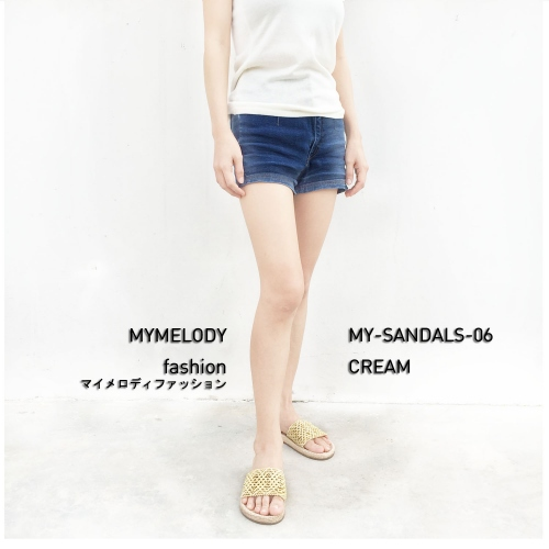 MY-SANDALS-06 ( CREAM ) large image 2 by Mymelody