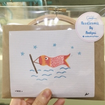 Embroidery Set - KOI at Blisby