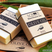 Olive Oil 100 % facial & body soap at Blisby