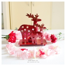 Reindeers Candle Holder เชิงเทียนกวางคู่ at Blisby