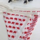 Flags Bunting {Kids rooms/red elephants}