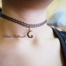 Tattoo Choker Necklace at Blisby