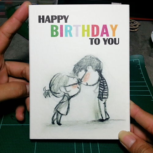 การ์ดวันเกิด 3 มิติ Birthday Pop up card large image 1 by aksorngoodcards