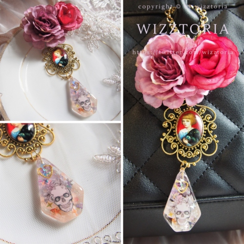W143 #bagcharm #ROSE #Lethe large image 0 by wizztoria