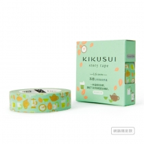 Kikusui Story tape [ PEARL MILK GREEN TEA ] at Blisby