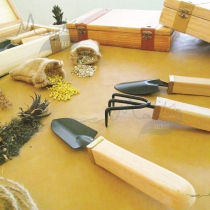 Handmade Garden Tool Kit ( Pine Wood ) By Mountain Ticket  at Blisby