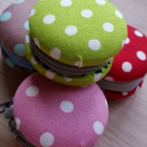 Macaron coin purse at Blisby