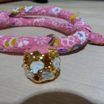 Pink Cat Collar/w Japanese style at Blisby