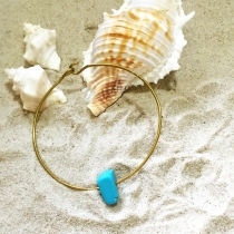 Simple Turquoise Bangle at Blisby