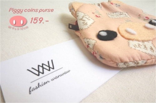 Piggy coins purse large image 0 by wanwawsweet