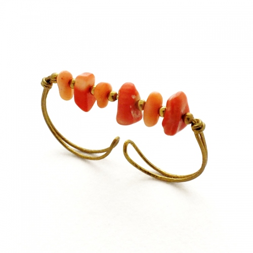 Two-Finger Ring-Coral large image 2 by szknskw