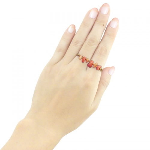 Two-Finger Ring-Coral large image 3 by szknskw