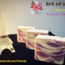 Natural Soap Recipe กลิ่น Lavender at Blisby
