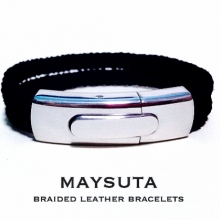 Maysuta Bradied Leather Bracelets (MS1) at Blisby