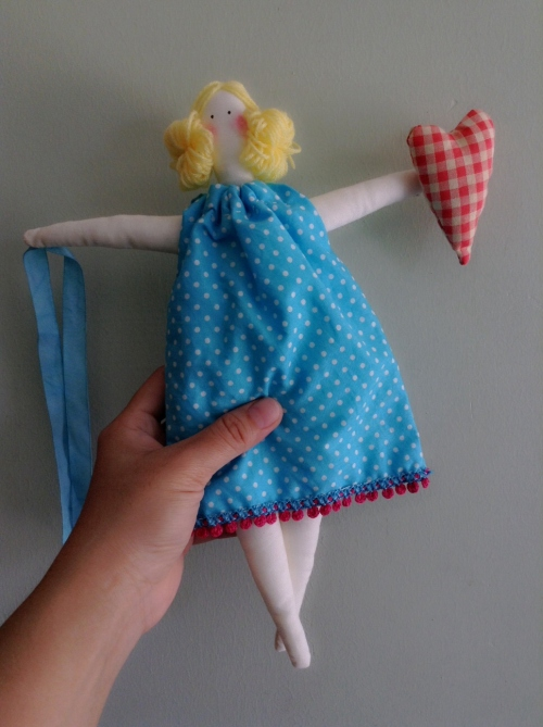 Handmade Tilda  Doll  large image 3 by HandmadeMania