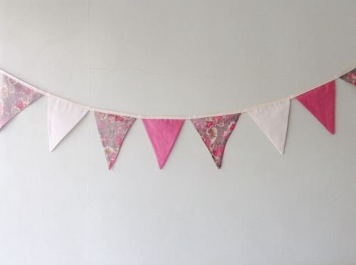 Flags Bunting {Blossom}  large image 1 by HandmadeMania