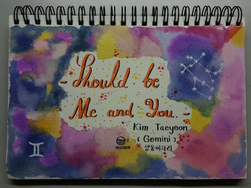 Gemini song - by Taeyeon SNSD large image 0 by PaintingHobbyShop