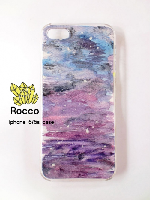 iphone 5/5s/6/6s handmade case สีน้ำเงินม่วง large image 0 by RoccoCase