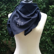 VIRGO scarf (90x90 cm) at Blisby