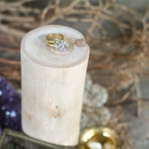 Clear Quartz Ring at Blisby