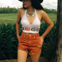 Festival crochet crop top at Blisby