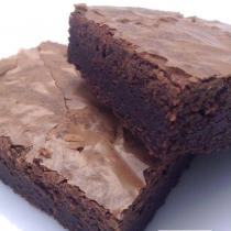 Dark Chocolate Brownies at Blisby