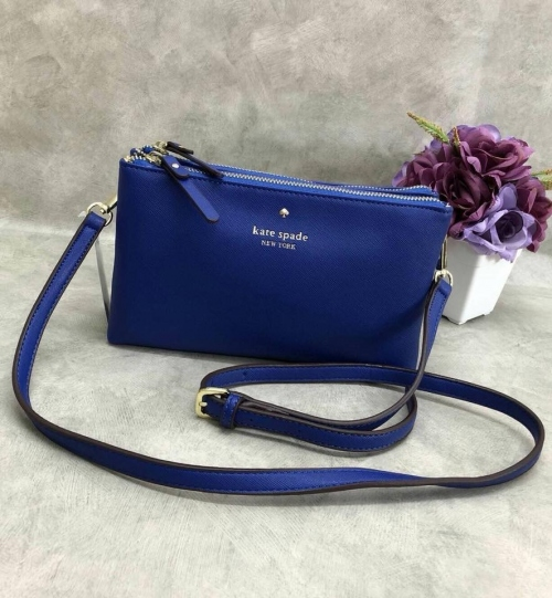 Kate spade new york 2 zipper crossbody bag large image 0 by Groovy