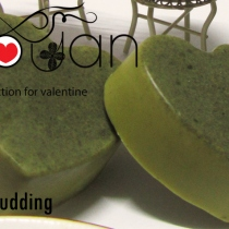 obouan handmade soap - VC-001A Matcha pudding at Blisby