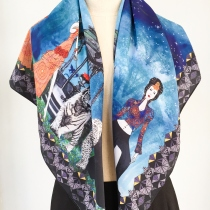 Queens of the Forest Scarf at Blisby