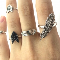 Couple Arrow Rings (Sterling Silver) at Blisby