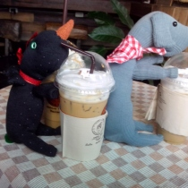 S001 Coffee time กับสองสหาย at Blisby