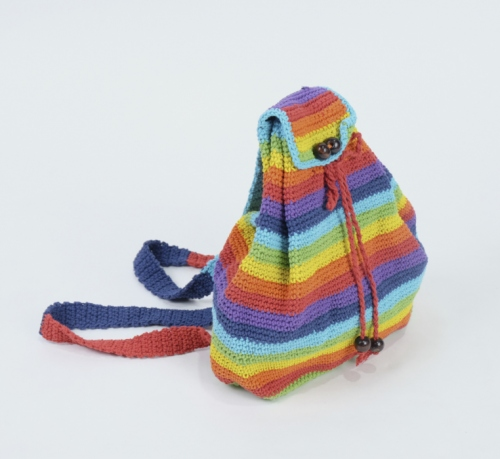 bright rainbow knitted bag large image 0 by sonedorsonia