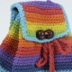 bright rainbow knitted bag thumbnail 2 by sonedorsonia