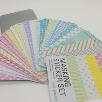 Masking Sticker box - Pastel set at Blisby