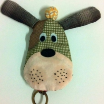 Key cover dog at Blisby