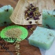 Rosemary and butterfly pea soap