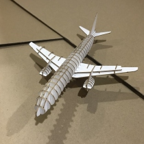 Airplane 3D Puzzle  at Blisby