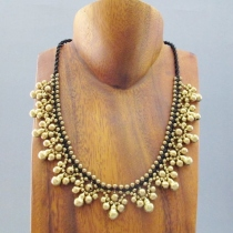 Ring Ring Hippie Necklace at Blisby