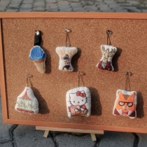 handmade key chain at Blisby