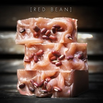 POMPOYO SOAP : RED BEAN SOAP : สบู่ถั่วแดง at Blisby